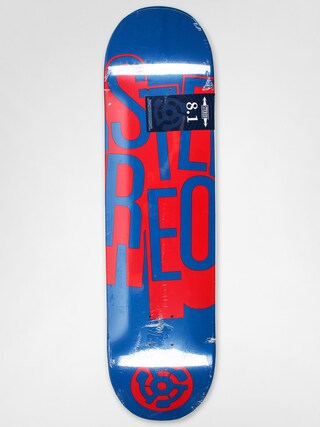 Deck Stereo Stacked (navy/red)