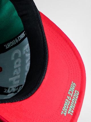 Czapka z daszkiem MassDnm Cash ZD (green/red)