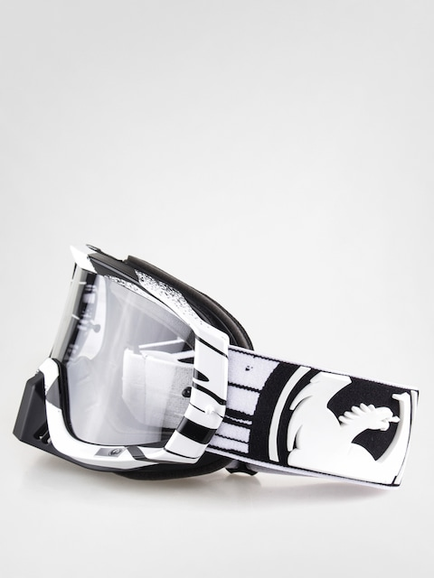 Gogle crossowe Dragon Vendetta (paint drip/blk/wht clear)