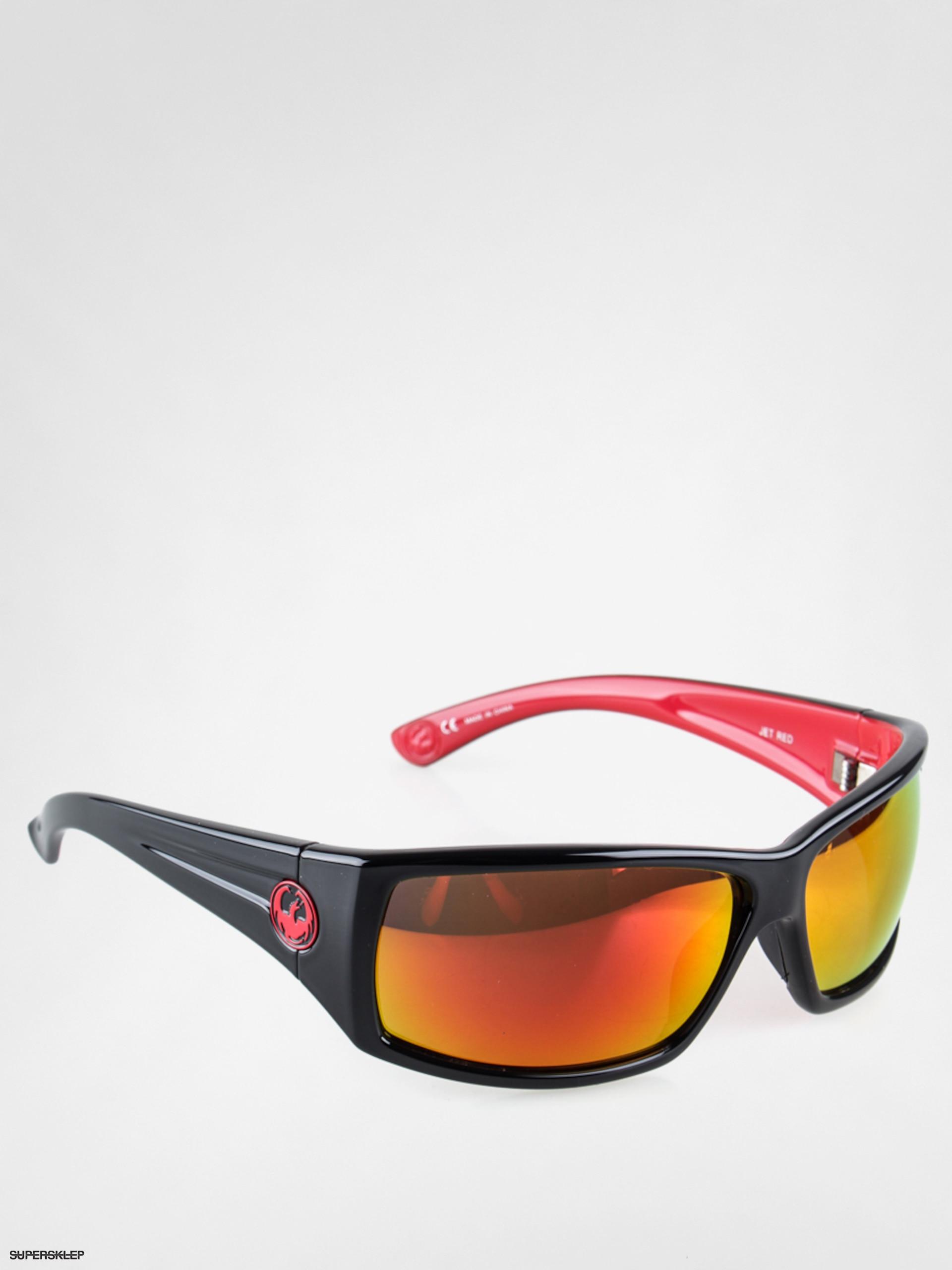 Okulary przeciwsłoneczne Dragon Cinch (jet red/red ion)