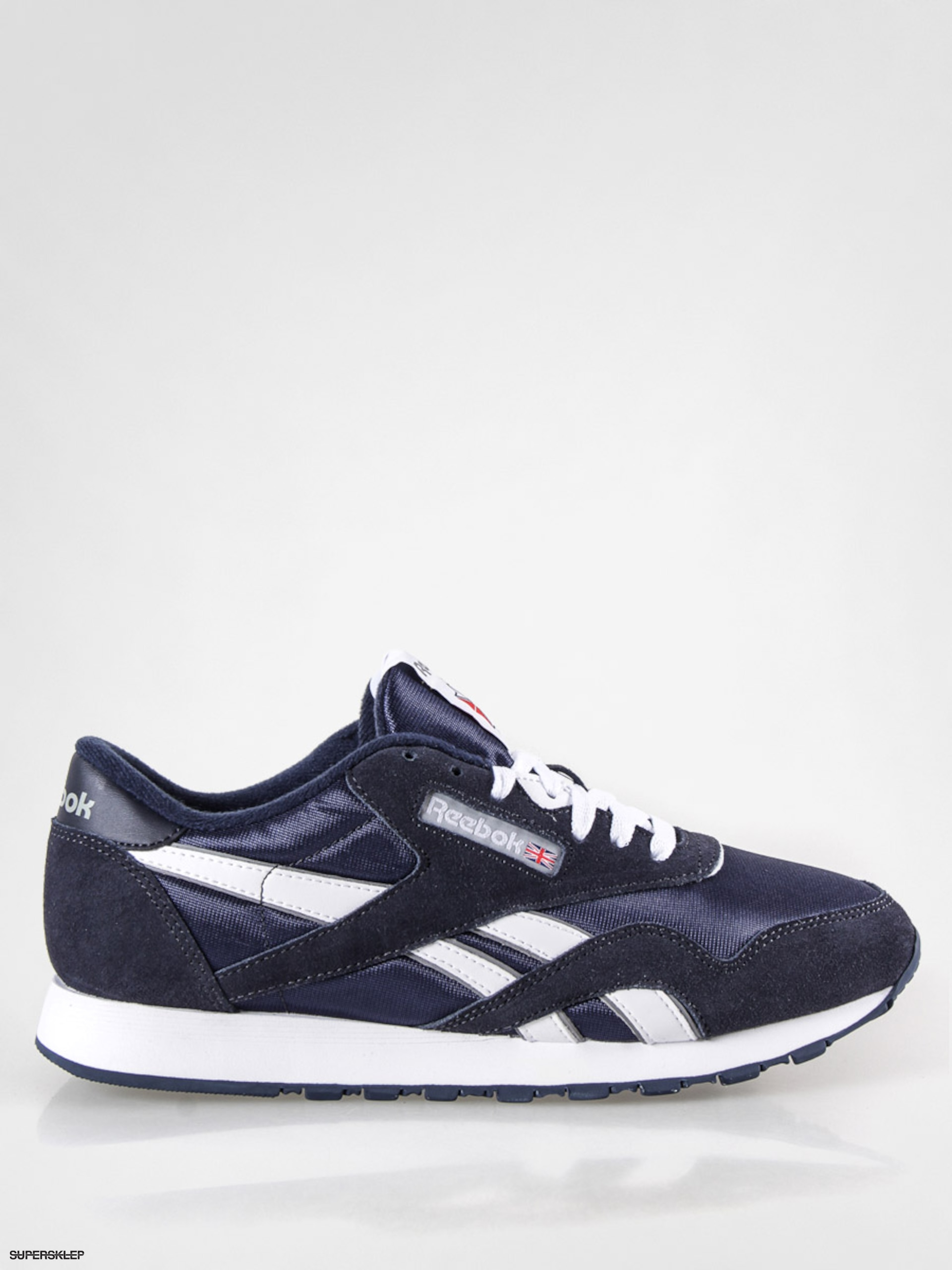 Buty Reebok CL Nylon (team navy/platinum)