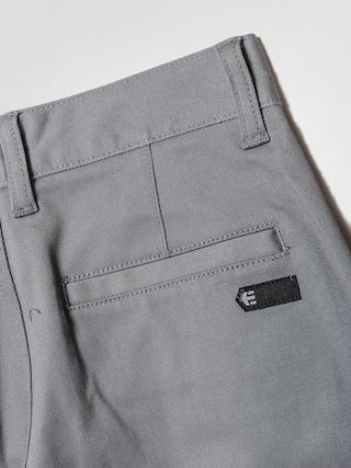 Dziecięce spodnie Etnies Classic Slim Chino (grey/charcoal)