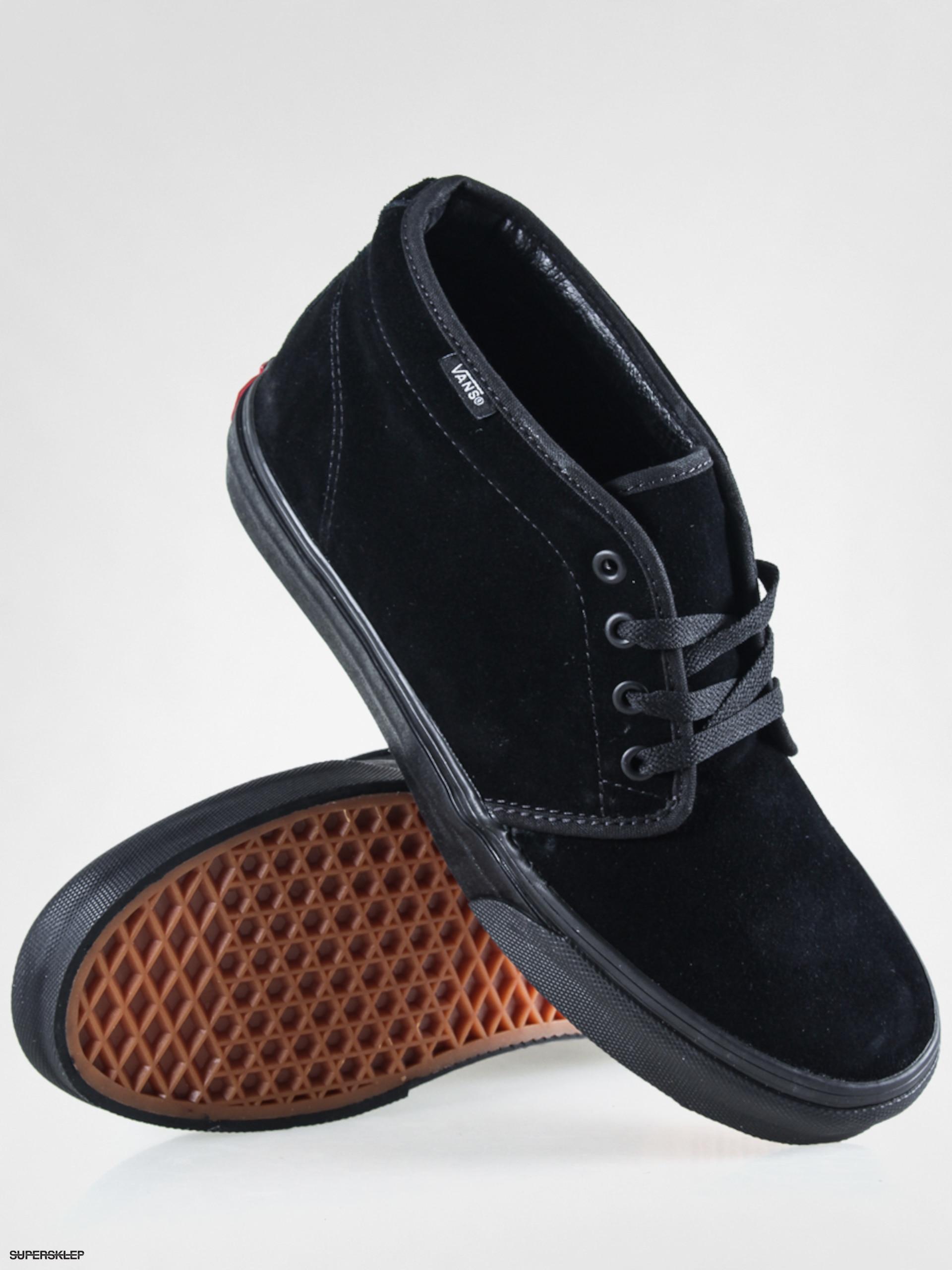 Buty Vans Chukka Boot Black White