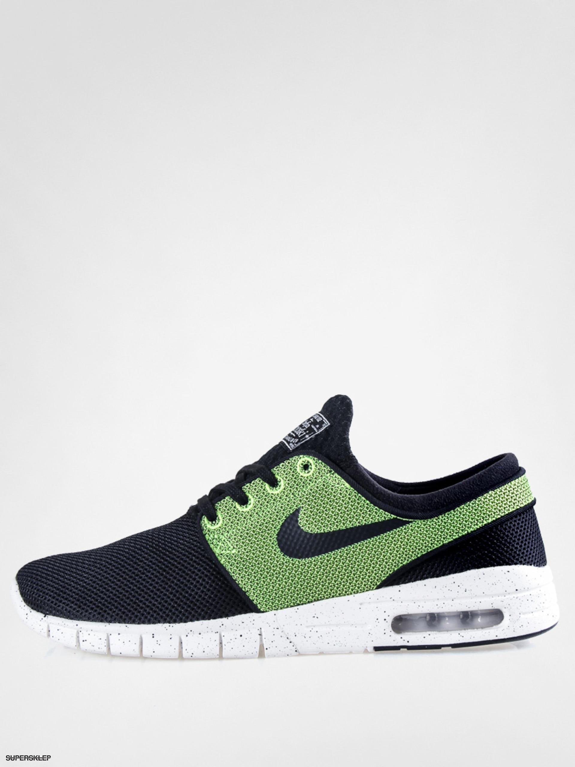 Buty Nike Janoski SB Stefan Janoski Nike Max (Noir/Noir volt ivory) 4281e3