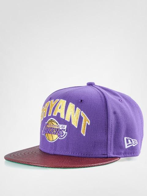 Czapka z daszkiem New Era NBA Players LA Lakers Bryant ZD (purple)