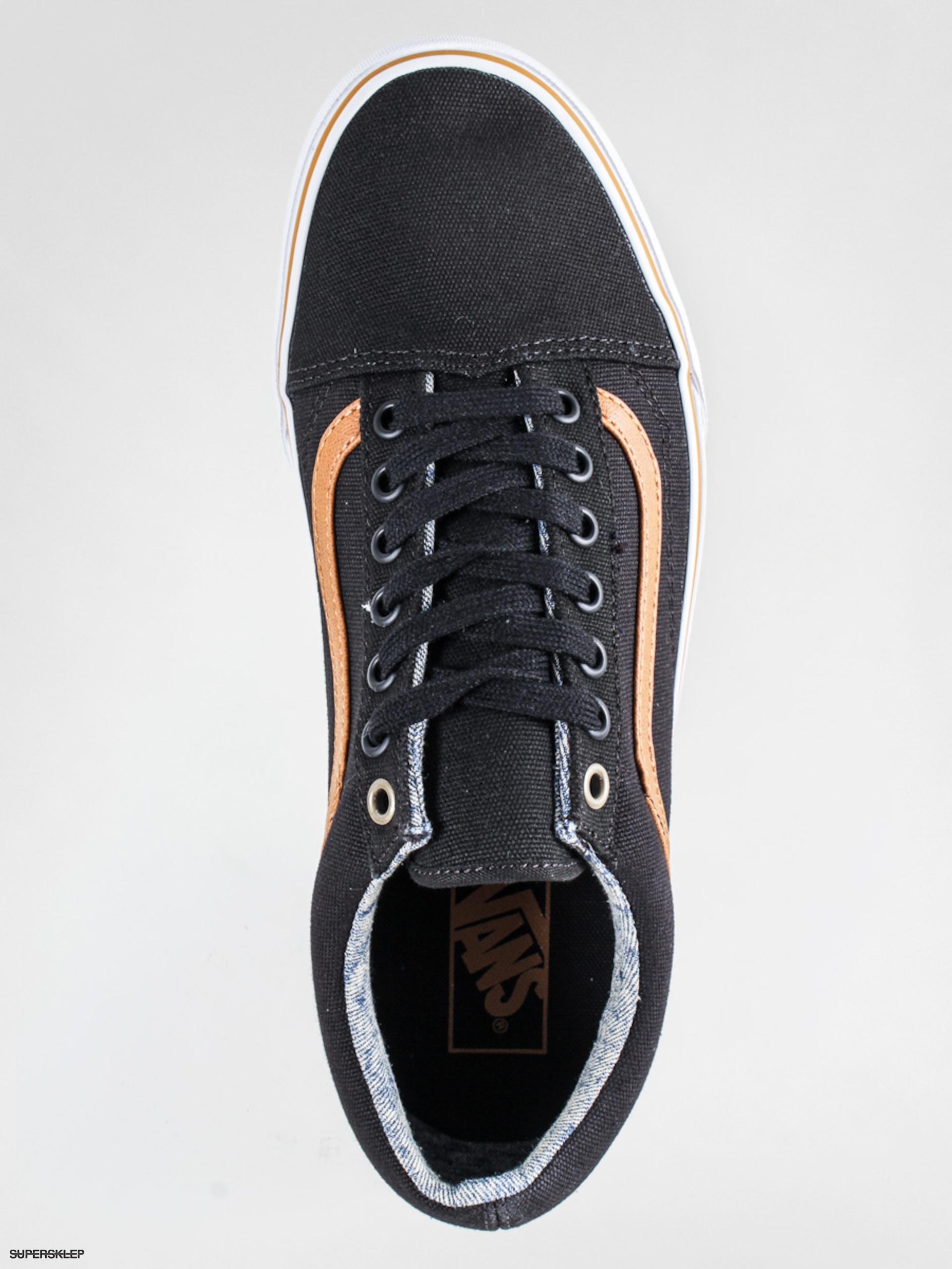 Buty Vans Old Skool C&L (blackwashed)