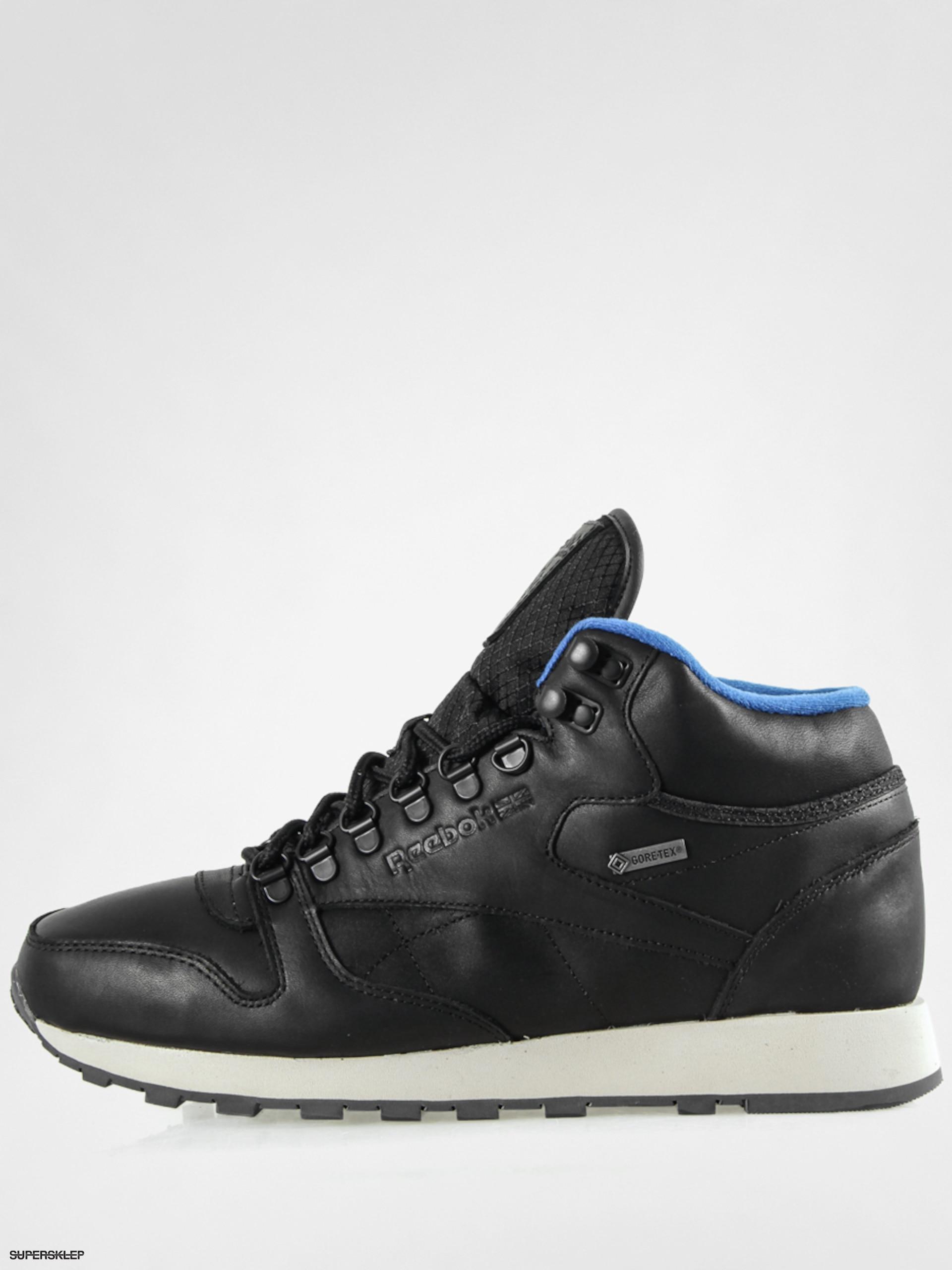 reebok classic leather mid gore tex
