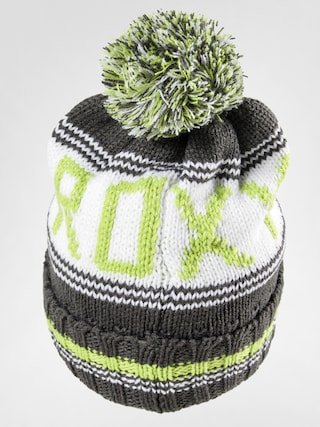 Czapka zimowa Roxy 00049 Wmn (forest green/white/lime)