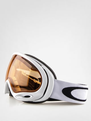 Gogle Oakley A-Frame 2.0 (polished white w/persimmon lens)