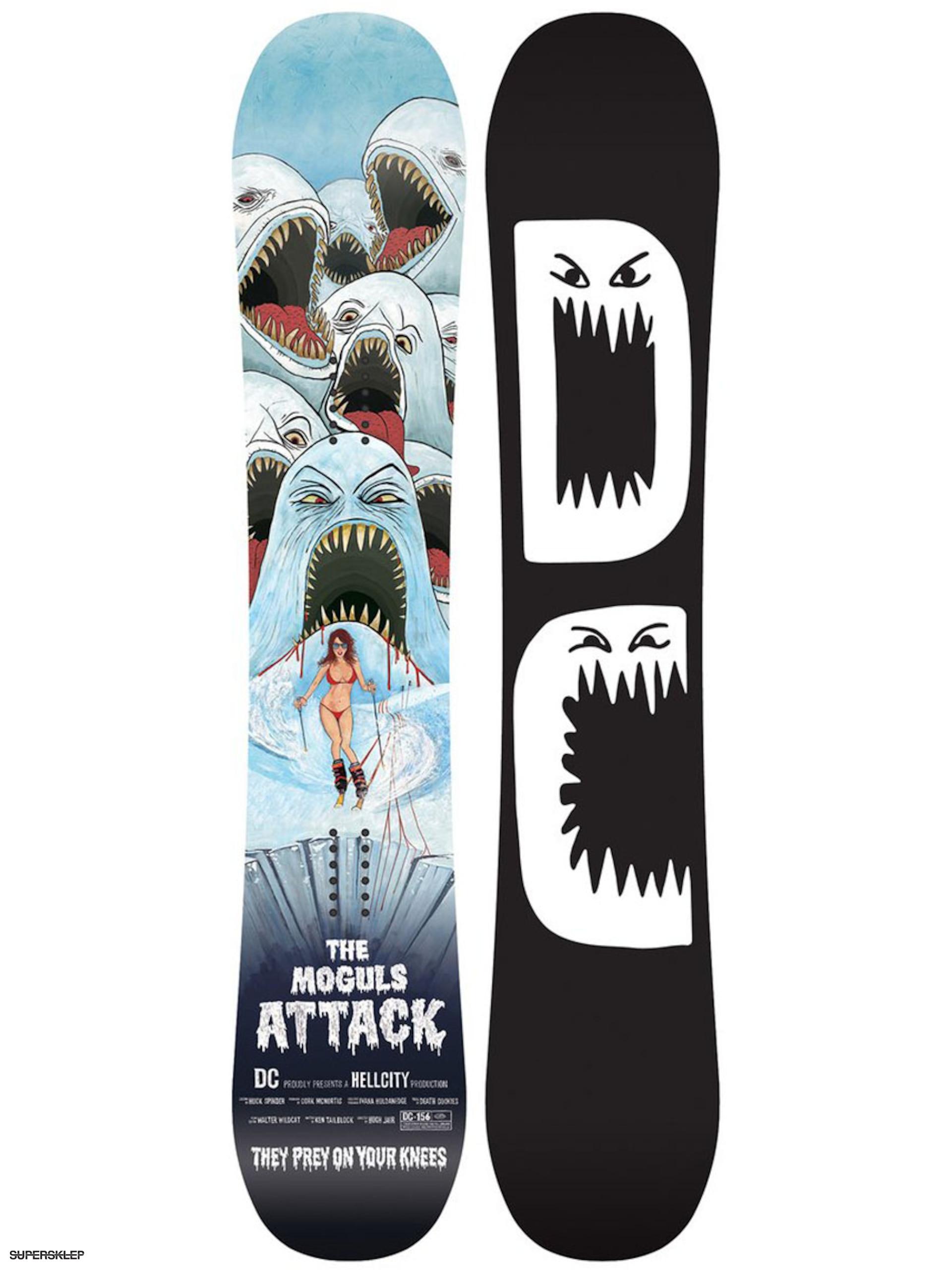 Deska snowboardowa DC Hell City (black) 168b0d234e