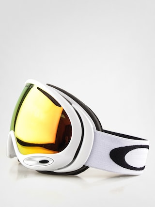 Gogle Oakley A-Frame 2.0 ( polished white w/fire irid)