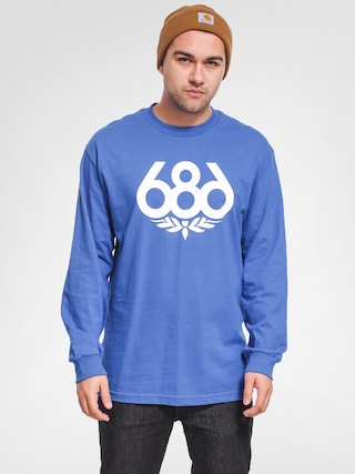 Longsleeve 686 Wreath (royal)