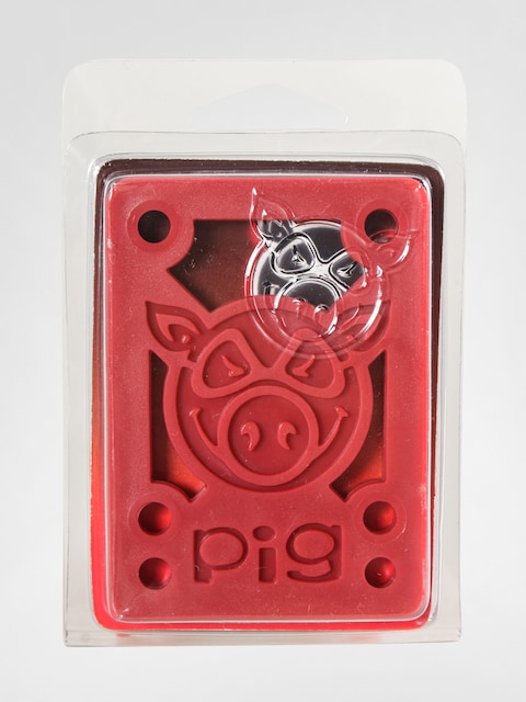 Podkładki Pig Hard Riser (red)