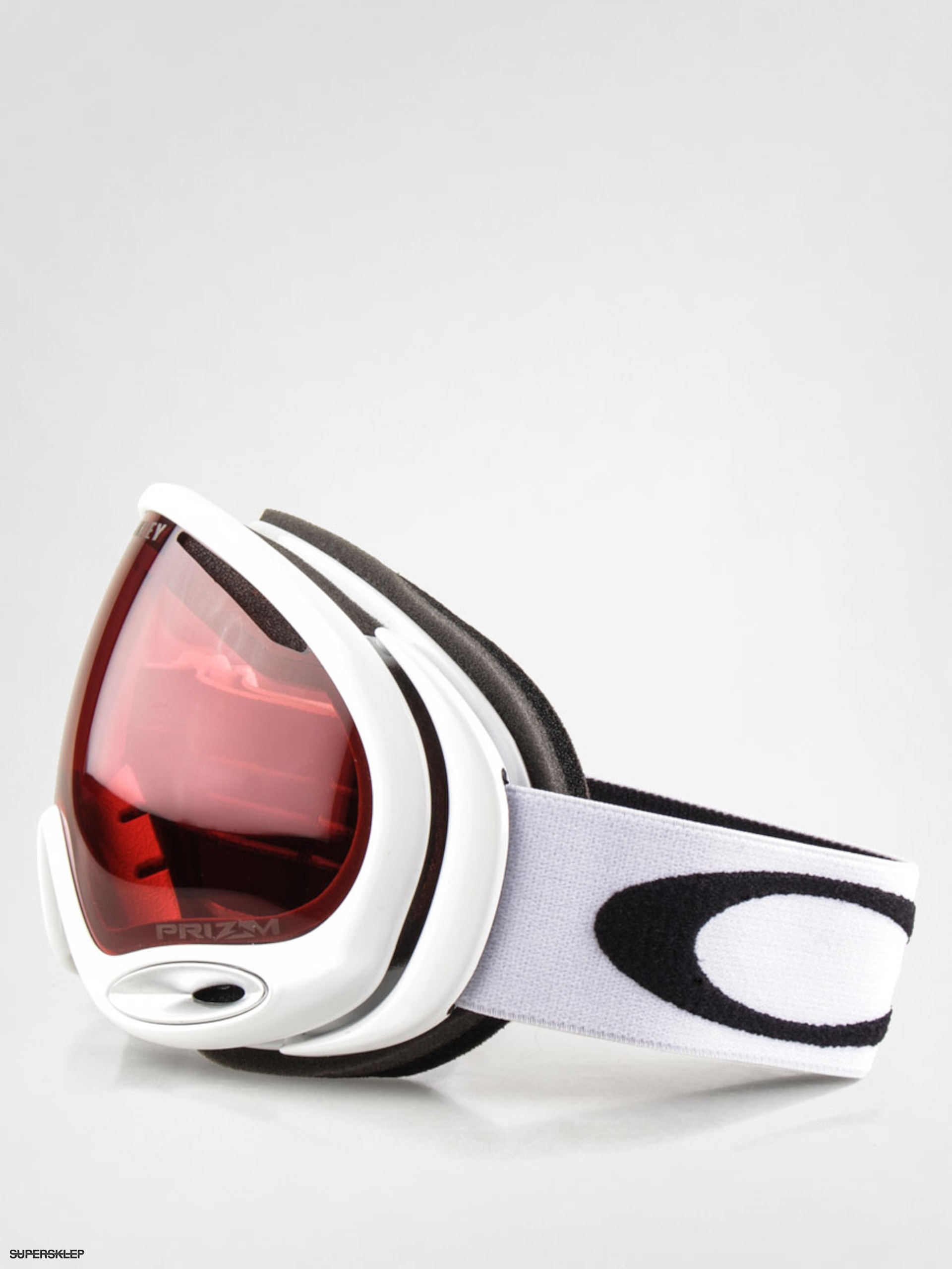 Gogle Oakley A Frame 2.0 (polished white w/prizm rose lens)