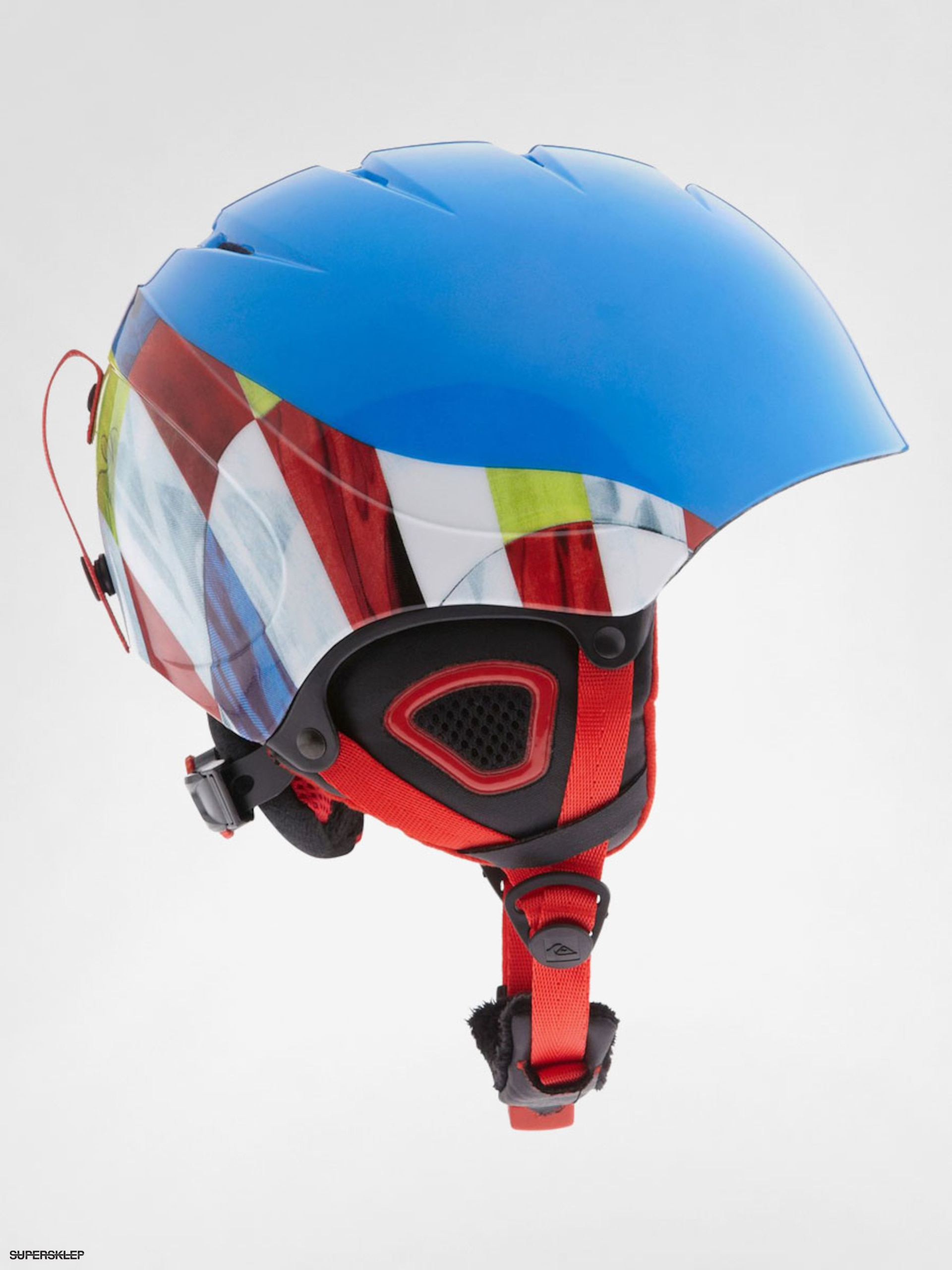 Kask Quiksilver The Game (blue/multi)