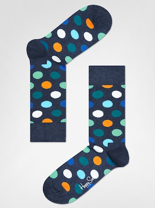 Skarpetki Happy Socks Big Dot (washed navy/multi)