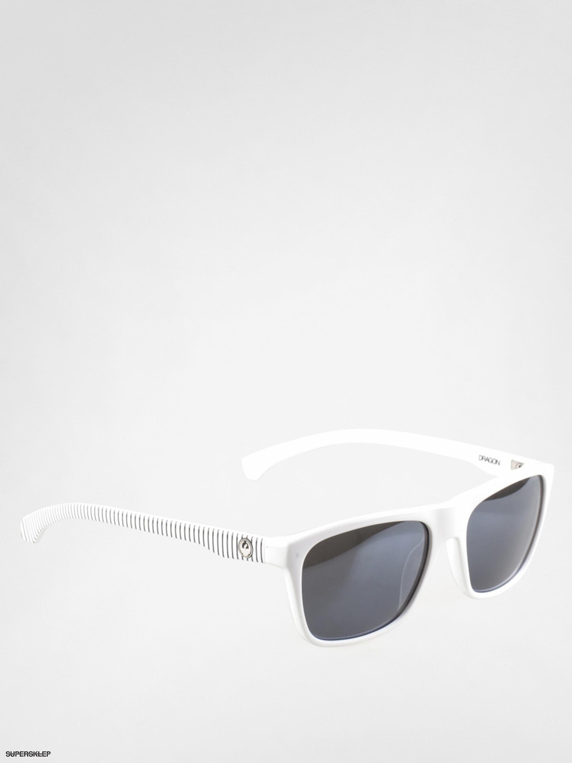 Okulary przeciwsłoneczne Dragon Carry On (white stripe/silver ion)