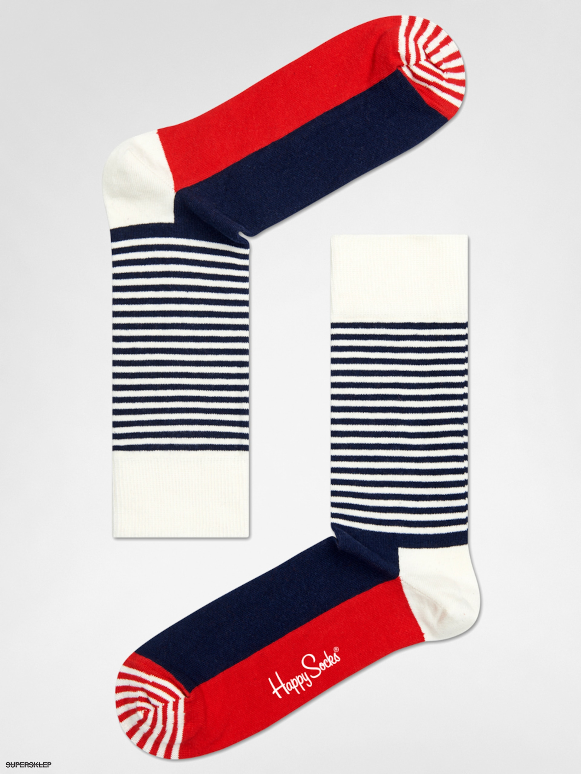 Skarpetki Happy Socks Stripe Half