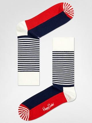 Skarpetki Happy Socks Stripe Half (navy/red/white)