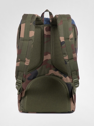 Plecak Herschel Supply Co. Little America (woodland camo/navy/red rubber)