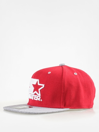 Czapka z daszkiem Starter Icon 3 Tone Sb ZD (red/grey heather)