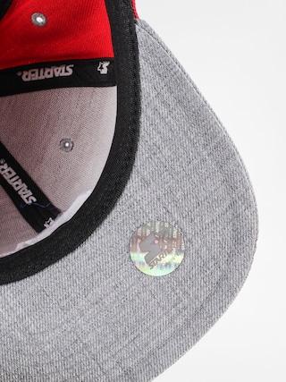 Czapka z daszkiem Starter Icon 3 Tone Sb ZD (red/grey heather)