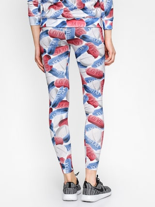 Legginsy MassDnm Saint Pills Wmn (white/blue/red)