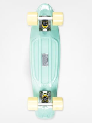 Deskorolka cruiser Fish Skateboards 02 (mint/yellow/silver)