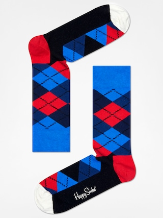 Skarpetki Happy Socks Argyle (blue/navy/red/black/white)