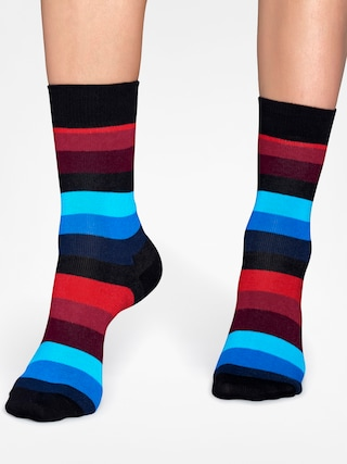 Skarpetki Happy Socks Stripe (black/red/blue)