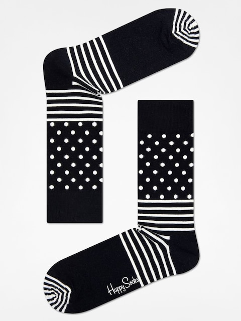 Skarpetki Happy Socks Stripe Dot (black/white)