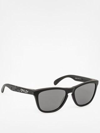Okulary przeciwsłoneczne Oakley Frogskins (matte black/black iridium)
