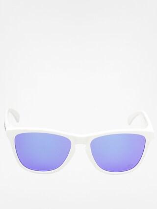 Okulary przeciwsłoneczne Oakley Frogskins (polished white/violet iridium)