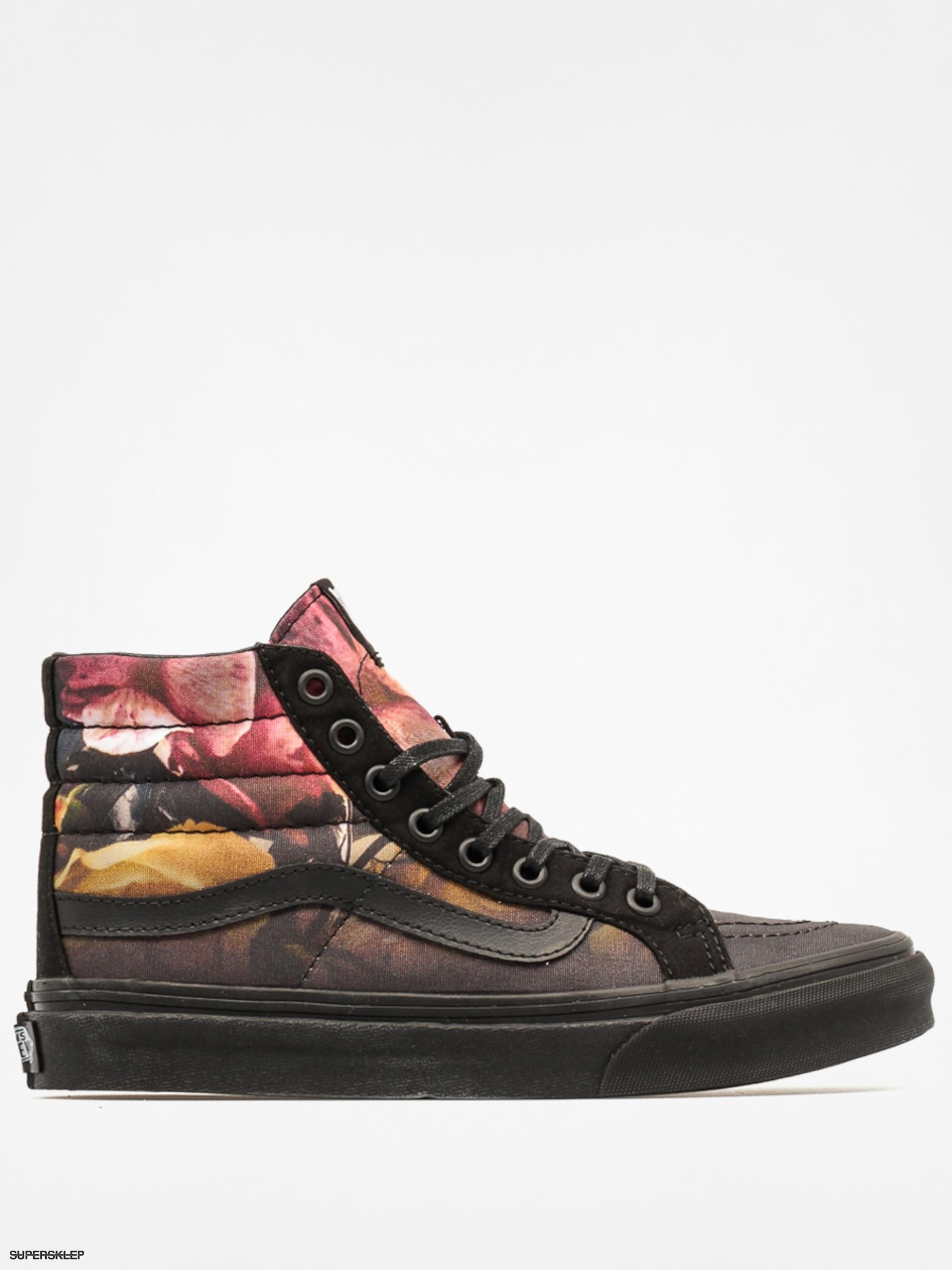 Buty Vans SK8 Hi Slim (Ombre Floral) Black Black : Sklep