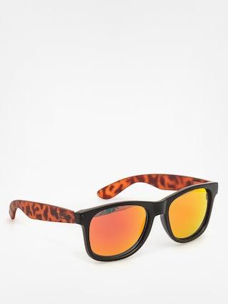 Okulary przeciwsłoneczne Majesty Shades L (black/torroise red lenses)