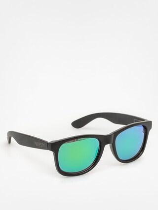 Okulary przeciwsłoneczne Majesty Shades L (matt black/polished black green lenses)