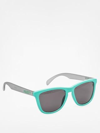 Okulary przeciwsłoneczne Majesty Shades M (mint/frost grey black lenses)