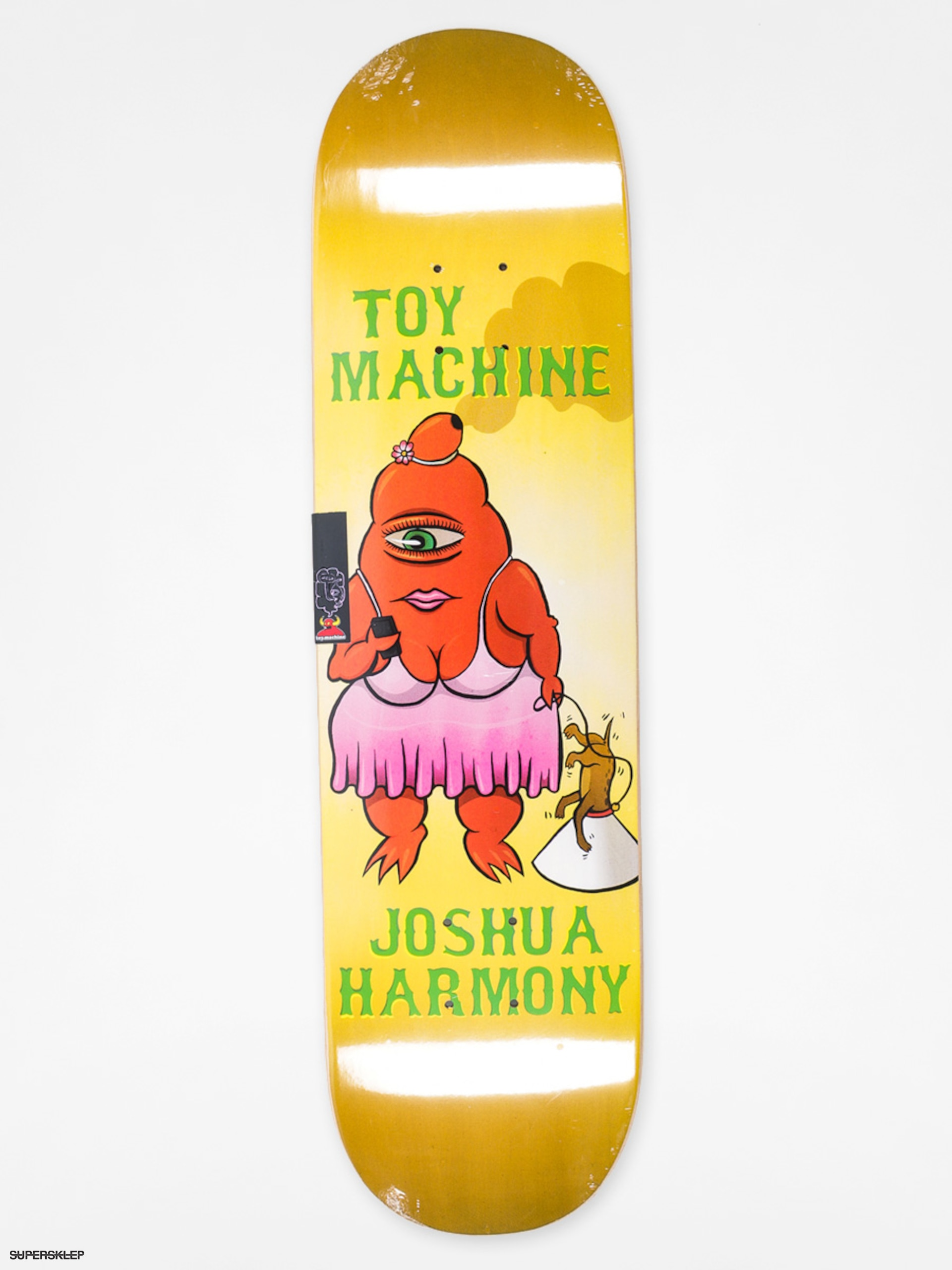 Deck Toy Machine Josh Harmony Fat Sect