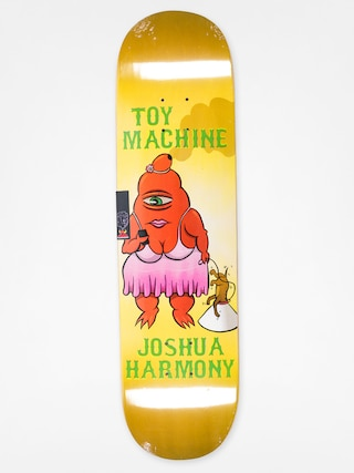 Deck Toy Machine Josh Harmony Fat Sect (yellow)