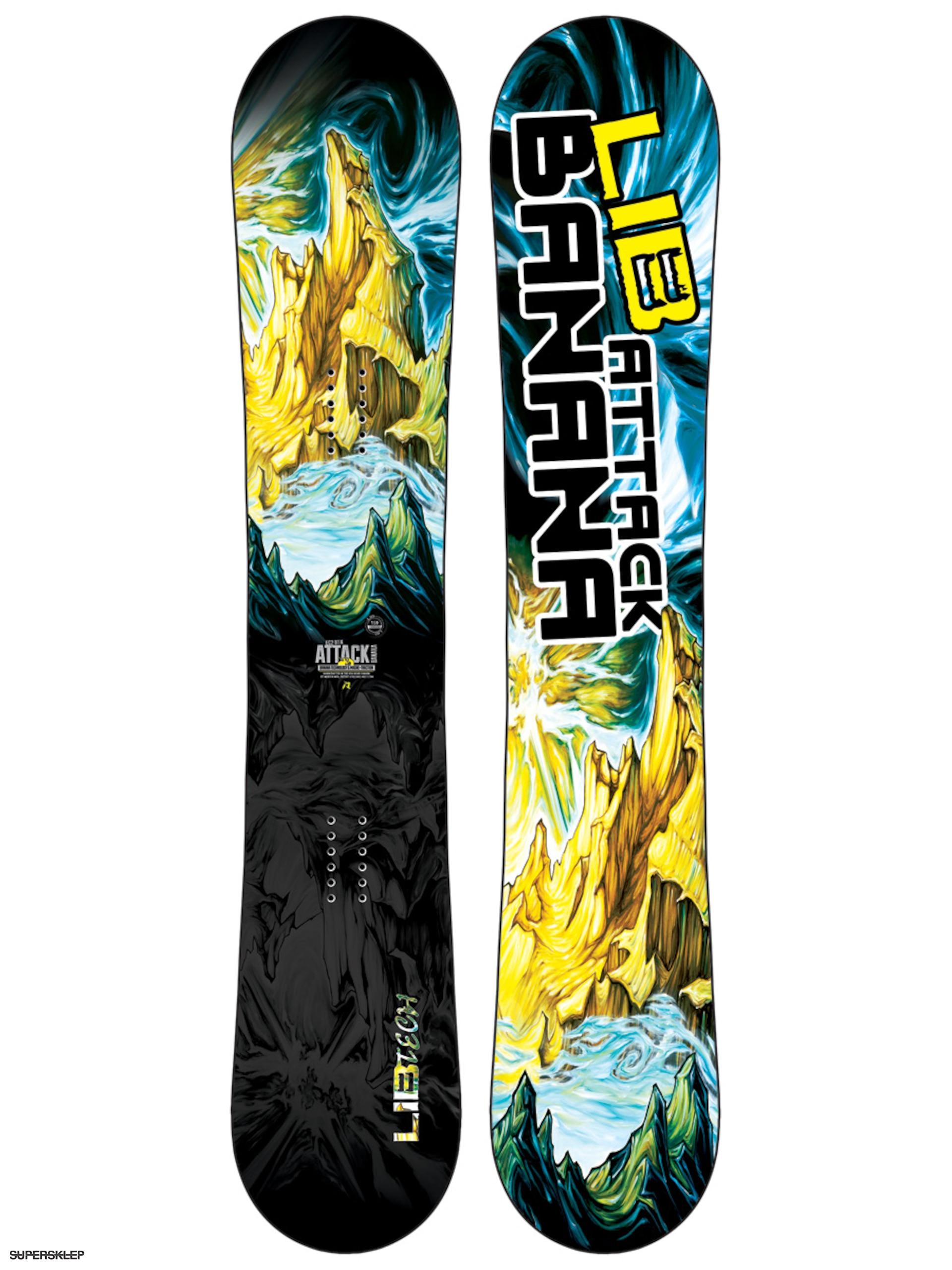 Deska snowboardowa Lib Tech Attack Banana EC2 127bd0b022