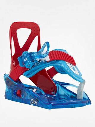 Dziecięce wiązania snowboardowe Burton Grom (red/blue)