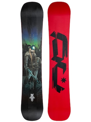 Deska snowboardowa DC Media Blitz (woman 2 print/red black)
