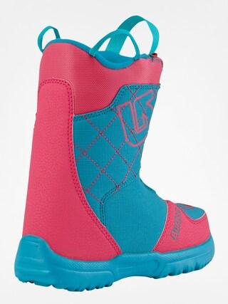 Dziecięce buty snowboardowe Burton Grom Boa (pink/teal)