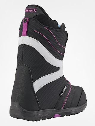 Buty snowboardowe Burton Coco Wmn (black/purple)