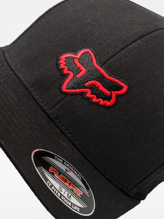 Czapka z daszkiem Fox Legacy ZD (black/red)