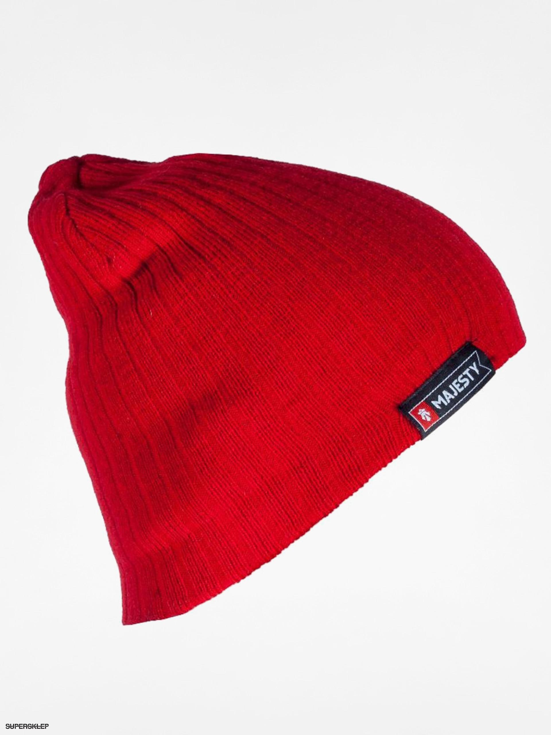Czapka zimowa Majesty Beanie (red)