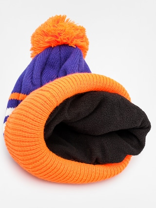 Czapka zimowa Quiksilver Summit Beanie (orange/royal/white)