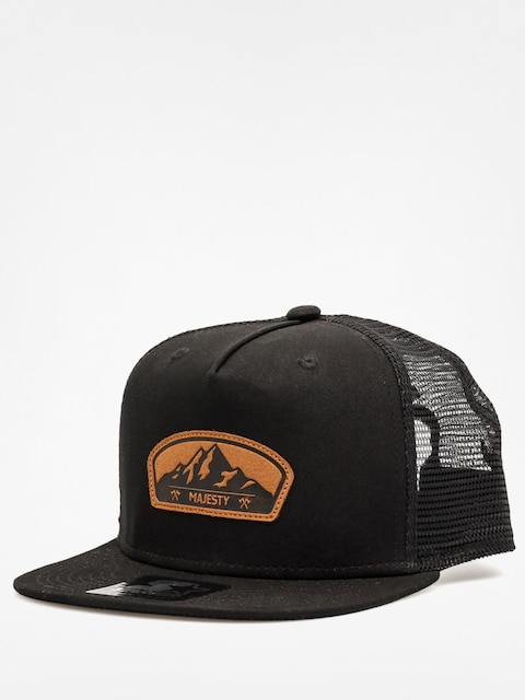 Czapka z daszkiem Majesty Starter Lumber Trucker ZD (black/brown)