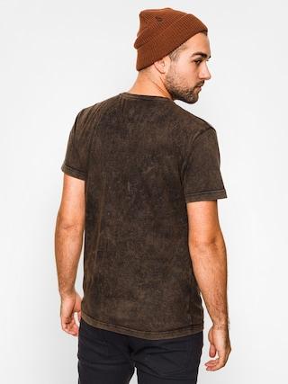 T-shirt Majesty Cafe Racer (black/stain)