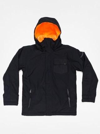 Dziecięca kurtka snowboardowa Quiksilver Mission Plain (black)